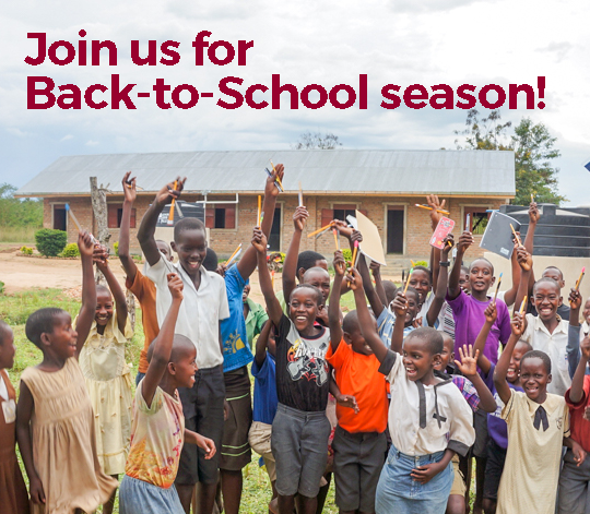 Join us for Back-to-School season!